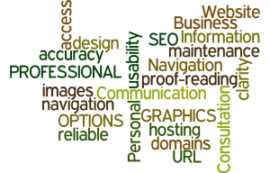Word Cloud website design