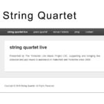 String Quartet - gentle-enterprises.org
